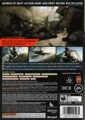 Battlefield 3 (Limited Edition) Xbox 360 Back Cover