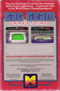 Tag Team Wrestling PC Booter Back Cover