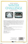 Winter Challenge: World Class Competition DOS Back Cover