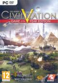 Sid Meier's Civilization V (Game of the Year Edition) Windows Other Keep Case - Front