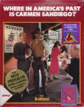 Where in America's Past is Carmen Sandiego? Apple II Front Cover