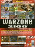 Warzone 2100 Windows Back Cover