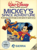 Mickey's Space Adventure DOS Front Cover