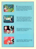 Mickey's Space Adventure DOS Inside Cover Left side