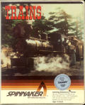 Trains DOS Front Cover