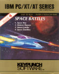 Space Battles DOS Front Cover