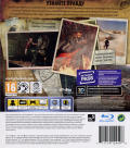 Uncharted 3: Drake's Deception PlayStation 3 Back Cover