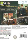 Sherlock Holmes: Secret of the Silver Earring Wii Back Cover