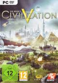 Sid Meier's Civilization V Windows Other Sleeve Case Front Cover reversed with USK 12 badge