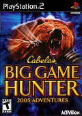 Cabela's Big Game Hunter 2005 Adventures PlayStation 2 Front Cover