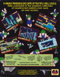 Lemmings & Oh No! More Lemmings DOS Back Cover