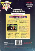 Ghosts 'N Goblins DOS Back Cover