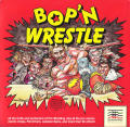 Bop'N Wrestle DOS Front Cover