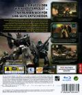 Mobile Suit Gundam: Crossfire PlayStation 3 Back Cover