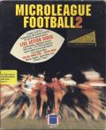 MicroLeague Football 2 DOS Front Cover