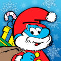 The Smurfs' Village iPad Front Cover