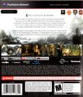 The Elder Scrolls V: Skyrim PlayStation 3 Back Cover