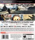 Call of Duty: MW3 PlayStation 3 Back Cover