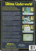 Ultima Underworld: The Stygian Abyss DOS Back Cover