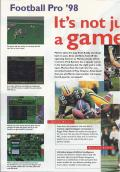Front Page Sports: Football Pro '98 Windows Inside Cover Left