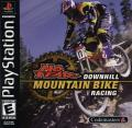 No Fear Downhill Mountain Bike Racing PlayStation Front Cover