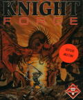 Knight Force Atari ST Front Cover