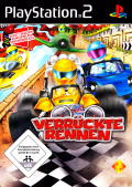 Buzz!: Junior: Ace Racers PlayStation 2 Front Cover