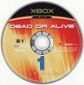 Dead or Alive Ultimate Xbox Media Dead or Alive 1 Ultimate disc