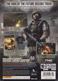 Frontlines: Fuel of War (Special Edition) Xbox 360 Back Cover