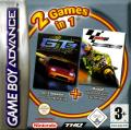 2 Games in 1: GT 3 Advance: Pro Concept Racing + Moto GP: Ultimate Racing Technology Game Boy Advance Front Cover