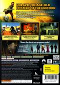 The Adventures of Tintin: The Game Xbox 360 Back Cover