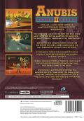 Anubis II PlayStation 2 Back Cover