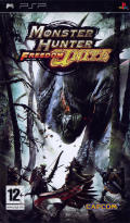 Monster Hunter Freedom Unite PSP Front Cover
