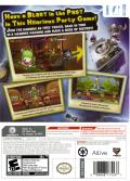 Raving Rabbids: Travel in Time Wii Back Cover