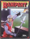 Rampart DOS Front Cover