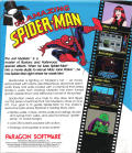 The Amazing Spider-Man DOS Back Cover