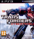 Transformers: War for Cybertron PlayStation 3 Front Cover