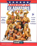 American Gladiators DOS Front Cover