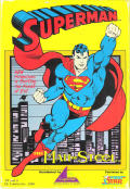 Superman: The Man of Steel DOS Front Cover