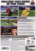 Tiger Woods PGA Tour 2005 PlayStation 2 Back Cover