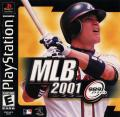 MLB 2001 PlayStation Front Cover