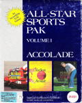 All-Star Sports Pak Volume I DOS Front Cover