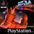 Street Fighter EX Plus Alpha PlayStation Front Cover