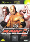 WWE Raw 2 Xbox Front Cover
