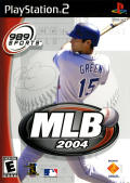 MLB 2004 PlayStation 2 Front Cover