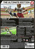 Madden NFL 07 (Hall of Fame Edition) PlayStation 2 Back Cover