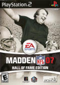 Madden NFL 07 (Hall of Fame Edition) PlayStation 2 Front Cover