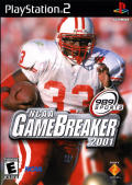 NCAA GameBreaker 2001 PlayStation 2 Front Cover