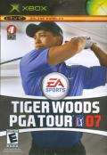 Tiger Woods PGA Tour 07 Xbox Front Cover