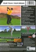 Tiger Woods PGA Tour 07 Xbox Back Cover
